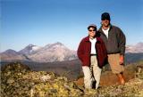 Steve & Carol on the Highline trail
