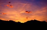 Glacier Sunset near St Mary's