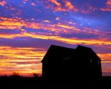Sunrise at the old Tanner Ranch by CindyD