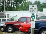 No motor vehicles by Erichocinc