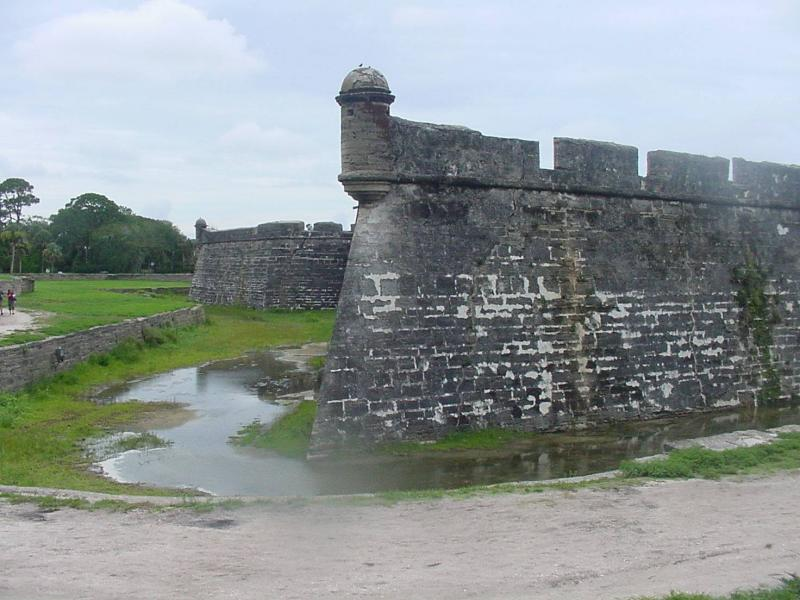 Yup, they had a moat!
