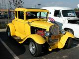 1930 Ford coupe - 2nd Walmart show March 1, 2003