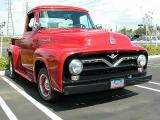 1955 Ford 250 Pickup - 2nd Walmart show March 1, 2003