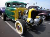 Model A Ford flat head hot road