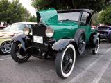 1929 Ford pickup - Fuddruckers, Lakewood, CA weekly Sat. night meet