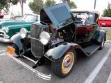 1932 Ford Cabriolet  - Fuddruckers, Lakewood, CA weekly Sat. night meet