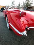 1954 Corvette (replica) - Fuddruckers, Lakewood, CA weekly Sat. night meet