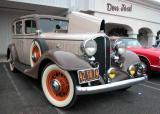 1933 Buick  - donut derelicts Sat. morn. meet, Huntington Beach, CA