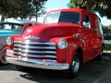 Chevy panel truck - Fuddruckers, Lakewood, CA weekly Sat. night meet