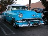 1954 Chevy - Fuddruckers, Lakewood, CA weekly Sat. night meet