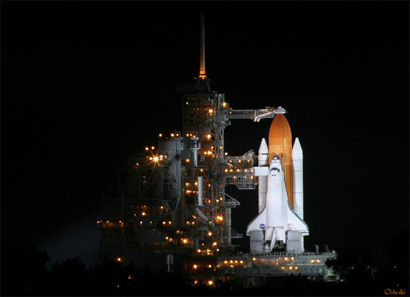 STS-114 Night before Launch