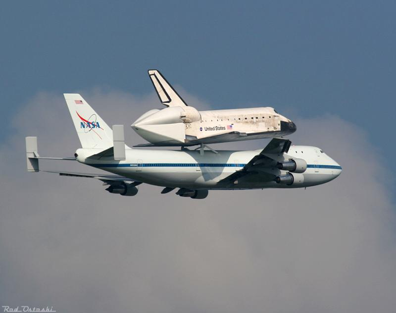 Discovery Returning to KSC