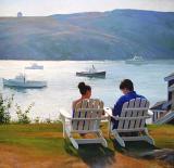 Adirondack Chairs, Monhegan 40 x 40