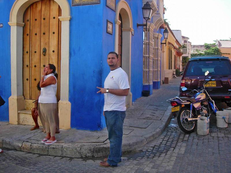 Rosa y  Tico en Cartagena