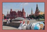 The cow of Red Square