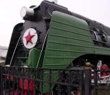 Front of Green Train