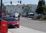 Street scene Hillcrest area San Diego CA