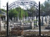 Chevra Thilim Cemetery on Canal Street