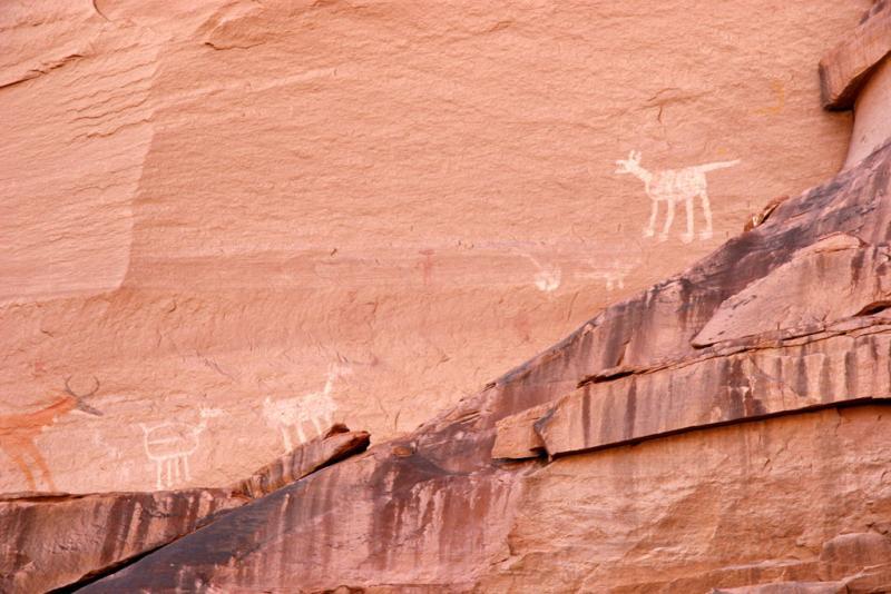 Rock Art , Antelope House Ruins