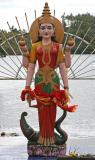 Mauritius - Lakshmi Statue (Holy Lake)