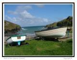 Port Gaverne Boats