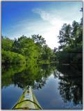 Evening paddling