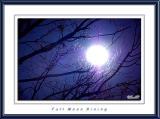 Full Moon Rising over Herndon, VA