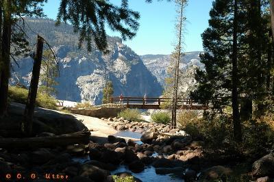 Nevada Fall Footbridge