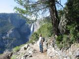 Me hiking in Yosemite, 2004