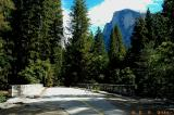 Sugar Pine Bridge and Half Dome