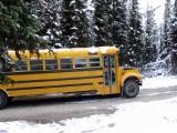 Bus to Lake O'Hara