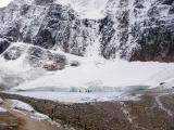 The Glaciers of Mount Edith Cavell