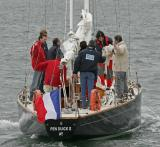 Pen Duick II pendant la Semaine du Golfe 2005