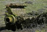 Epaves de l'île Berder - Vieux moteur d'un bateau de pêche