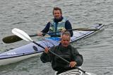 Kayaks de mer dans le golfe