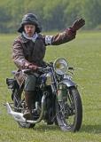Une Terrot 350 HSST de 1930, une autre moto de la collection de Jean CAILLOU qui la pilotait lors de ce meeting