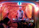 DJ aboard the Naughty