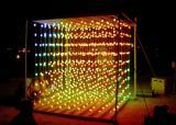ping pong ball light cube