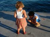 Preparing for fishing - Fornells