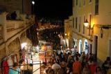 Port Ciudadella by night