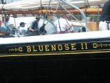 BLUENOSE  - Sailing away