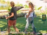 Garden PhotoshootPhotographer and Subject