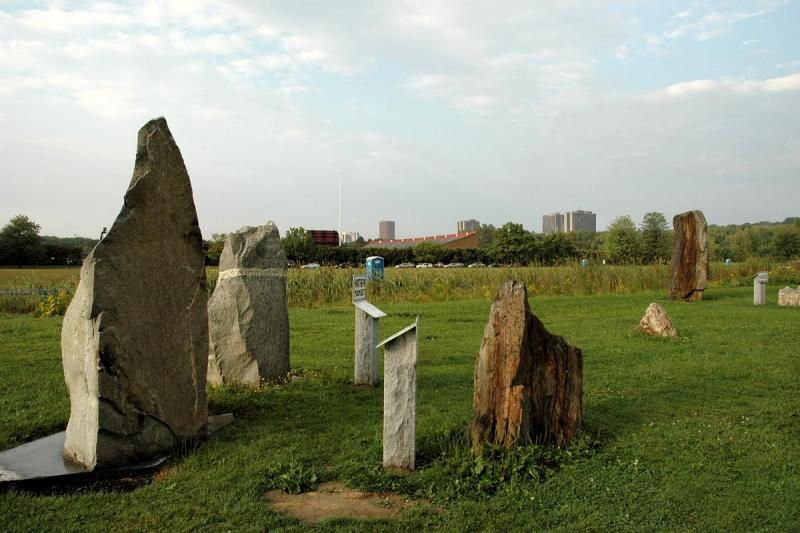 2005-09-15: our own little Stonehenge