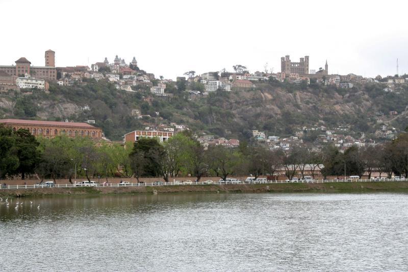 Antananarivo from Lac Anosy