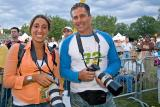 photographes avec nos canon  Festiblues 2005