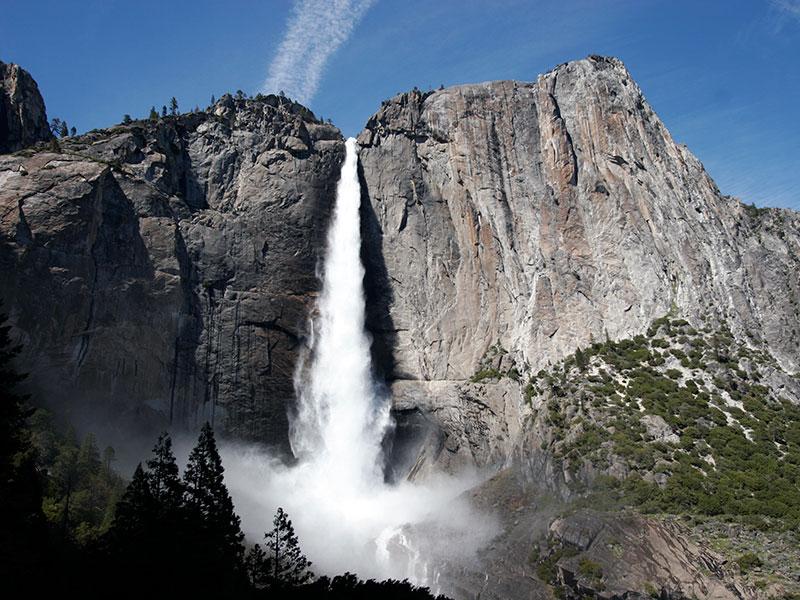 Below Upper Yosemite Falls