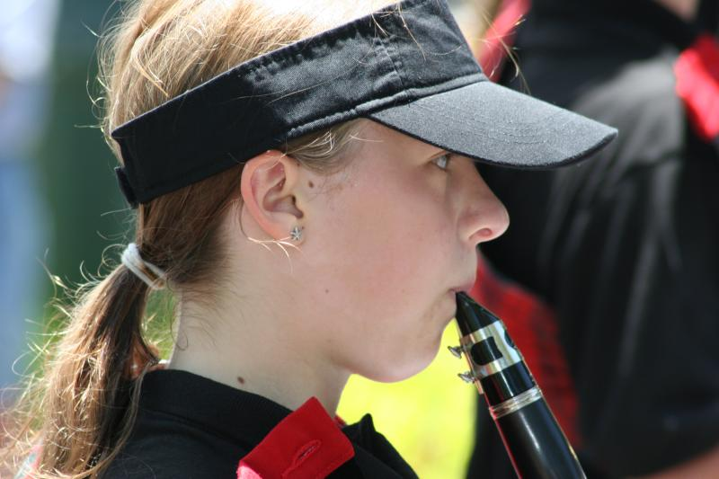 Member of Santa Cruz High School Marching Band