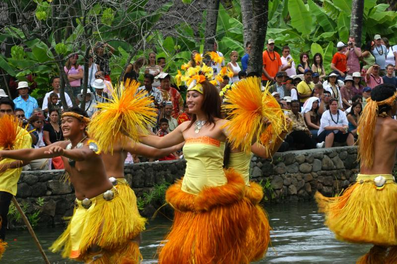 Tahiti Dancers - Polynesian Cultural Center