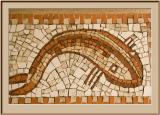 Mosaic--St. Tropez Fish Market
