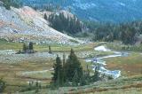 Meadow below Warm Lake